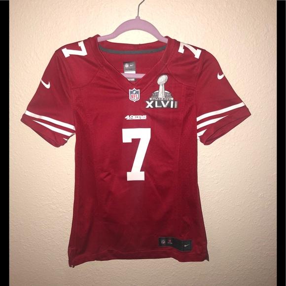 buy popular 84c78 87b25 Nike 49ers Collin kaepernick super bowl jersey